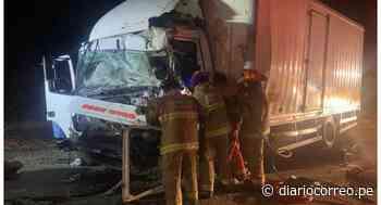 La Libertad: Choque entre camión y tráiler deja dos muertos en Virú - Diario Correo