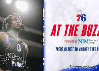 76ers Charge to Victory Over Detroit