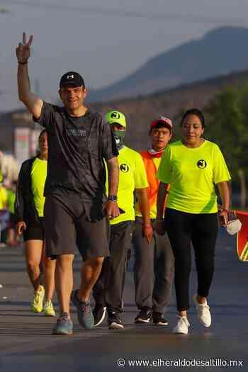 Jericó Abramo se compromete a impulsar el deporte en México - El Heraldo de Saltillo