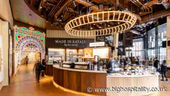Italian food hall Eataly's long-awaited first UK site has opened on Broadgate in the City of London - BigHospitality.co.uk