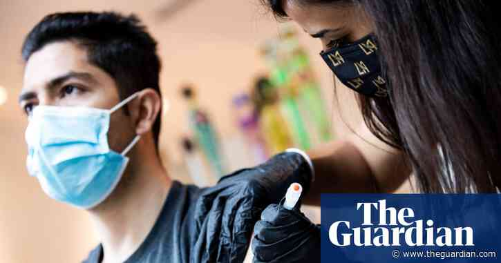 States turning down Covid-19 vaccine doses as US demand declines
