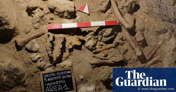 Remains of nine Neanderthals found in cave south of Rome