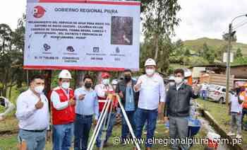 Gobernador regional da inicio la ejecución del Canal Chicope, Huancabamba - El Regional