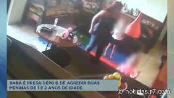Babá é presa após agredir criança de 2 anos em Bom Despacho (MG) - HORA 7