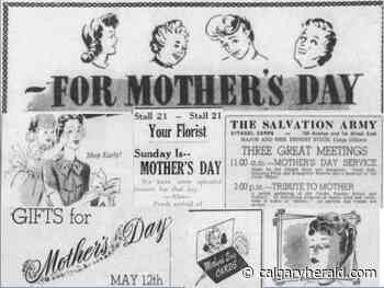 Mother's Day in Calgary 100 years ago: From the archives - Calgary Herald