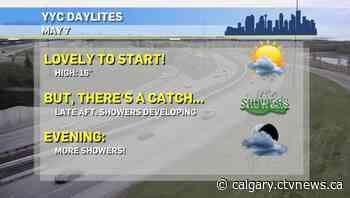 Calgary weather for Friday, May 7 - CTV Toronto