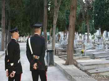 Capua – Furti, ladri al cimitero: violate una ventina di cappelle - Paesenews