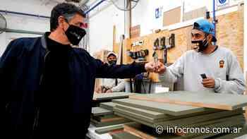 Jorge Macri visitó fábrica en Munro y resaltó el rol de las Pymes como fuentes de trabajo - Cronos noticias