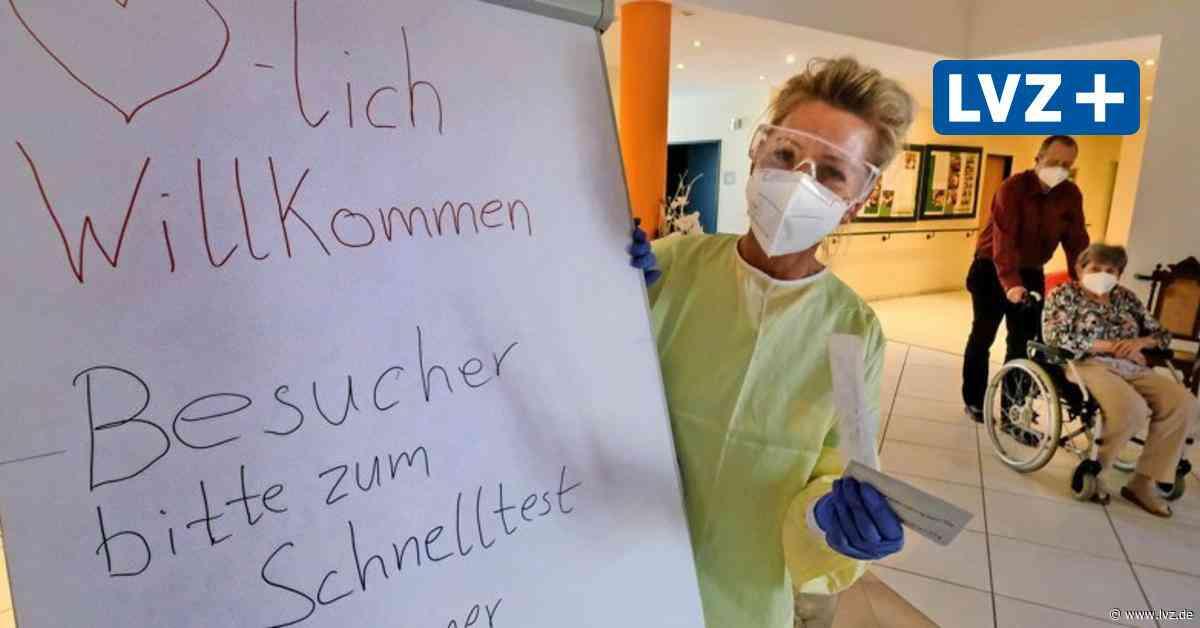 Das sind in Delitzsch, Eilenburg und Bad Düben die aktuellen Besuchsregelungen in Seniorenheimen - Leipziger Volkszeitung