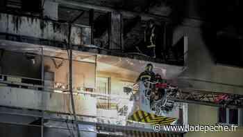 Sainte-Foy-les-Lyon : spectaculaire incendie dans un immeuble de huit étages et un bilan miraculeux - LaDepeche.fr