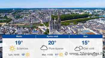Météo Angers: Prévisions du dimanche 9 mai 2021 - 20minutes.fr