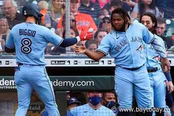 Biggio hits first HR in Houston, Jays top Astros 8-4