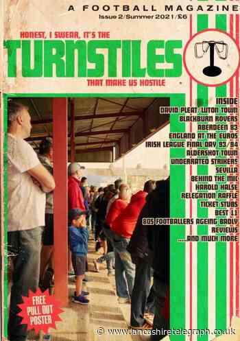 Blackburn: Rovers fan launches Turnstiles Magazine