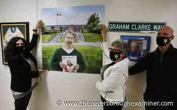 Photos: Portrait remembering teacher Dean Pomeroy unveiled at Westmount Public School in Peterborough - ThePeterboroughExaminer.com