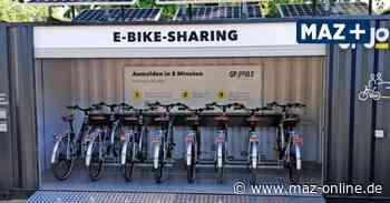 Verkehr: Kleinmachnow verleiht acht E-Bikes auf dem Rathausmarkt - Märkische Allgemeine Zeitung