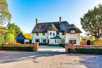 Inside this huge £2m thatched home in Angmering, Sussex