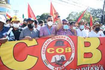 Celebramos junto a la Central Obrera Boliviana, en #SantaCruz, el Día de las y l… - eju.tv