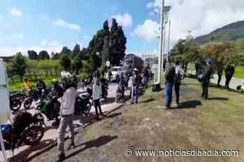 Persisten bloqueos en Ubaté, Cundinamarca - Noticias Día a Día