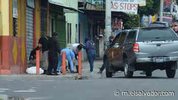 Vendedor ambulante fue asesinado de varios disparos en el barrio Santa Anita - elsalvador.com