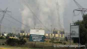 Aumenta termoeléctrica de Tula riesgo de muerte covid - Criterio Hidalgo