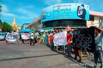Myanmar junta brands ousted lawmakers 'terrorists'