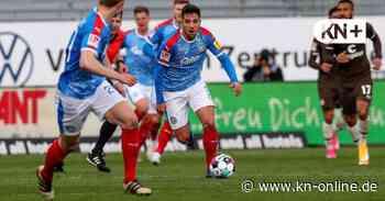 Ahmet Arslan ist im Saisonfinale plötzlich wichtig bei Holstein Kiel - Kieler Nachrichten