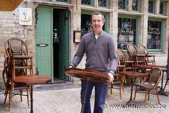 """Ook oudste café van Gent is klaar voor de heropening: """"Klanten vragen om strijkplank te gebruiken als tafels allemaal volzet zijn"""" - Het Nieuwsblad"""