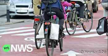 """Opvallende daling bij de jaarlijkse fietstelling in Gent: """"38 procent minder fietsers geteld dan in 2019"""" - VRT NWS"""