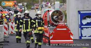 Roding: Offenes Feuer im Industriegebiet - Mittelbayerische