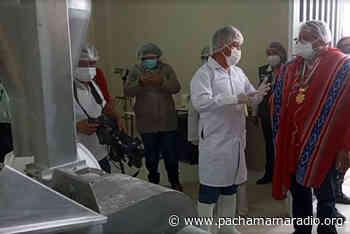 Inauguran planta procesadora de quinua y planta quesera en Azángaro - Pachamama radio 850 AM