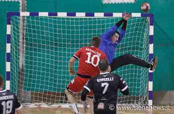 Ego Handball Siena, Bargelli realizza nel finale la rete del pareggio contro Cingoli - Siena News
