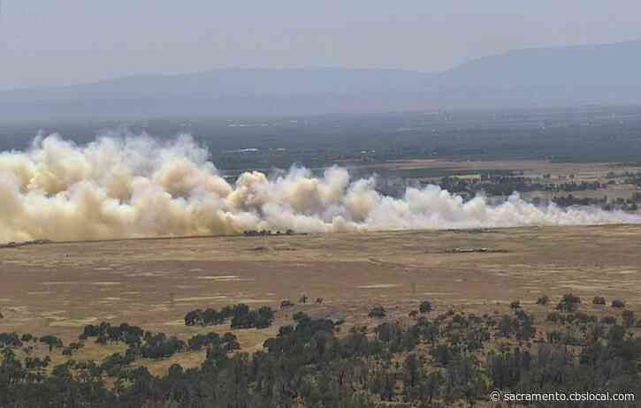 Evacuations Lifted As Wildfire Fully Contained In Rural Area North Of Chico