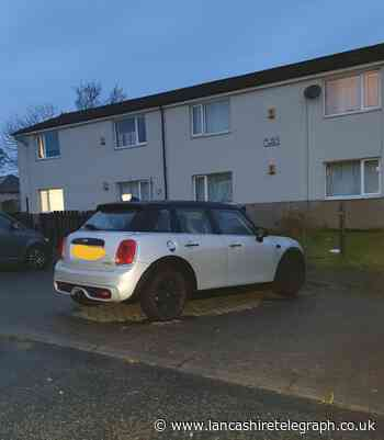 Driver of stolen mini was tracked down by police dogs