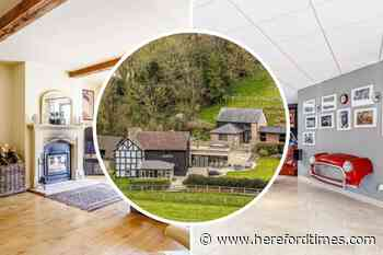 For sale: Inside the £1.6 million character farmhouse with a very modern twist