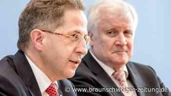 Umstrittener CDU-Politiker: Seehofer zweifelt nicht an Maaßens demokratischer Gesinnung