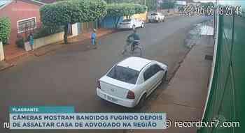 Casa de advogado é assaltada em Ituverava - Record TV