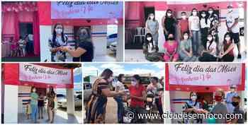 Mães são homenageadas em evento no formato drive-thru em Jacobina do Piauí - Cidades em Foco