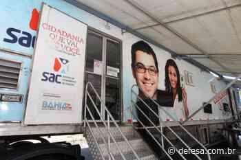 SAC Móvel continua em Jacobina até a próxima terça-feira - Defesa - Agência de Notícias