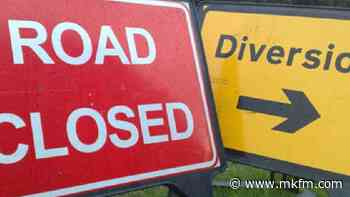 Three roads closed in Milton Keynes today - with one bus route diverted - MKFM