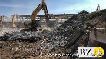 Braunschweig: Die alte A39-Brücke ist Geschichte