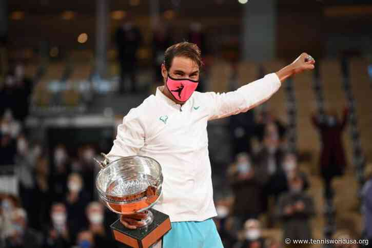 Rafael Nadal: 'Roger Federer is my great friend and rival, it's amazing to match him'