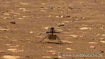 US-Raumfahrt: Nasa veröffentlicht erste Ton-Aufnahme von Mars-Flug - Süddeutsche Zeitung - SZ.de