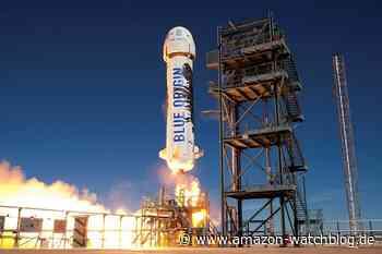Jeff Bezos' Raumfahrt-Firma versteigert Flug ins Weltall - Amazon Watchblog