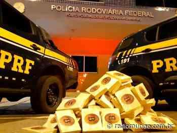 Leopoldina: homem é preso pela PRF com 70 kg de pasta base de cocaína dentro do carro - Rádio Muriaé