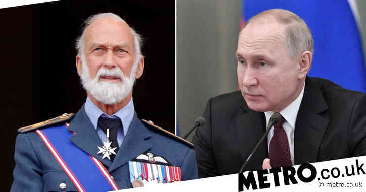 Queen's cousin 'used royal status to sell access to Putin for £10,000 a day'