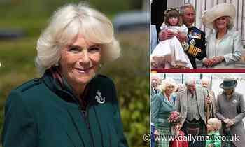 Camilla admits having 'half a hug' with her grandchildren despite ban on embracing