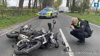 Beim Abbiegen übersehen: Motorradfahrer bei Unfall mit Pkw in Garrel schwer verletzt - Nordwest-Zeitung