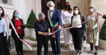 Macerata, taglio del nastro a Palazzo Buonaccorsi: parte la mostra dedicata all'artista Tullio Crali (FOTO) - Picchio News
