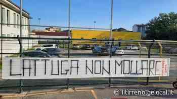 Pontedera e Gradinata tifano per Lattuga: «Non mollare» - Il Tirreno