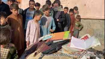 Dutzende Tote bei Anschlag auf Mädchenschule in Kabul